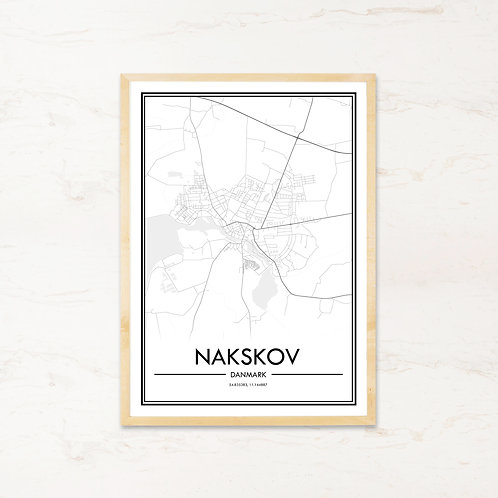 Nakskov plakat - Byplakat fra IMAGI.dk