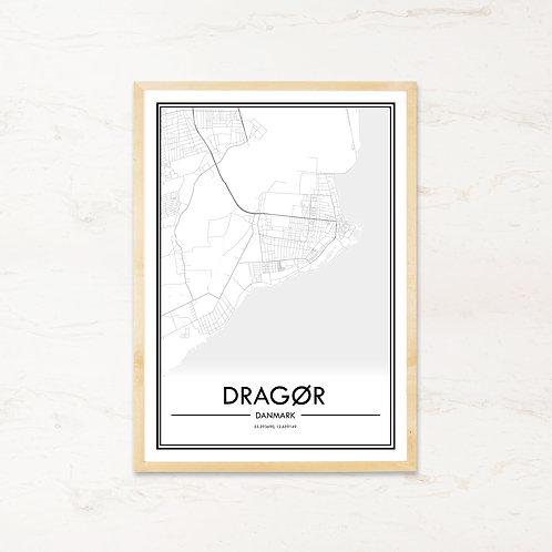 Dragør plakat - Byplakat fra IMAGI.dk