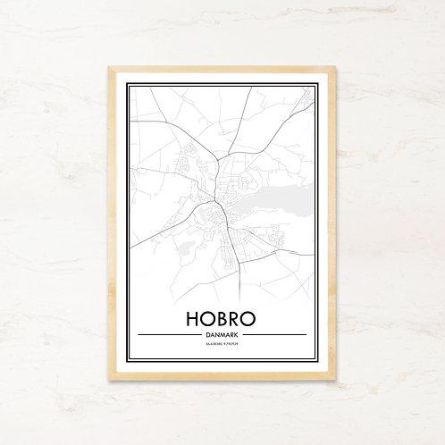 Hobro plakat - Byplakat fra IMAGI.dk
