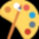 Logo for Farvesymbolik på IMAGI BLOG