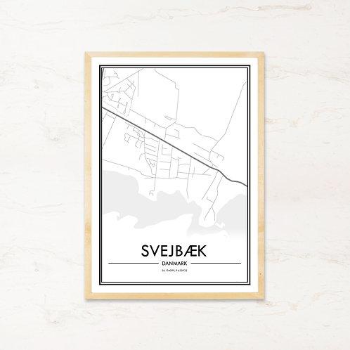 Svejbæk plakat - Byplakat fra IMAGI.dk