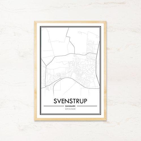 Svenstrup plakat - Byplakat fra IMAGI.dk