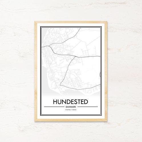 Hundested plakat - Byplakat fra IMAGI.dk