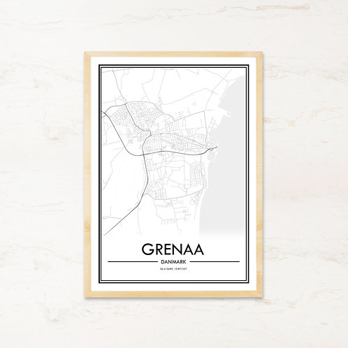Grenaa plakat - Byplakat fra IMAGI.dk