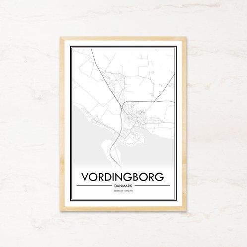 Vordingborg plakat - Byplakat fra IMAGI.dk