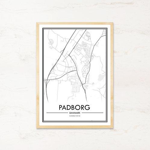 Padborg plakat - Byplakat fra IMAGI.dk