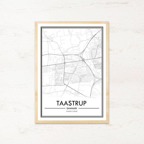 Taastrup plakat - Byplakat fra IMAGI.dk
