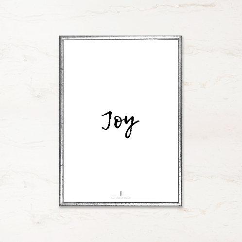 Citatplakat - Joy