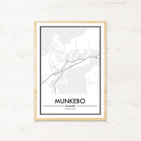 Munkebo plakat - Byplakat fra IMAGI.dk
