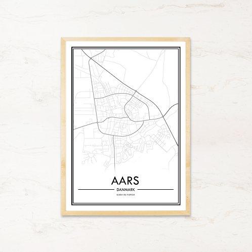 Aars plakat - Byplakat fra IMAGI.dk