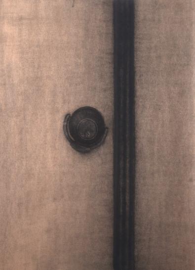comma, 크라프트지에 목탄,콘테, 109x79cm