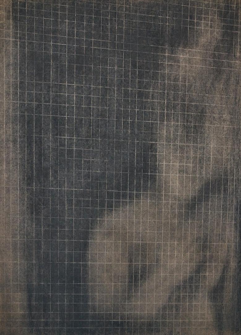 그림자가 되었을 때7-3, 크라프트지에 콘테,목탄, 109x79cm, 2018