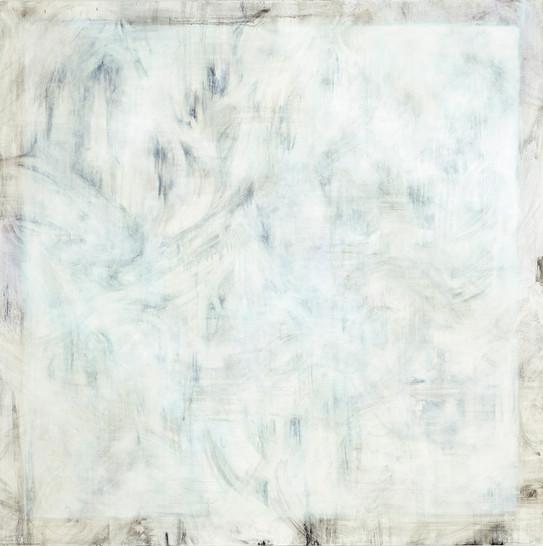 더 깨끗한 흰색을 찾아서2, Oil on canvas, 130x130cm, 2015