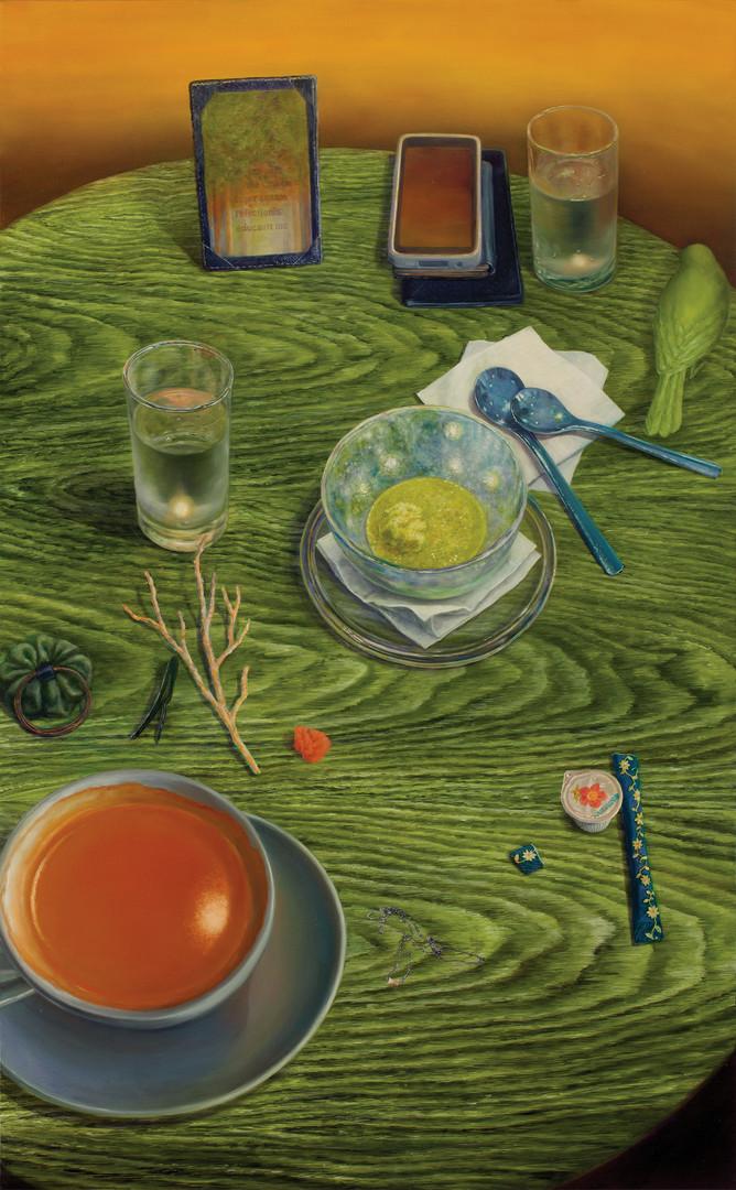 자작나무, oil on canvas, 130.3x80.3cm, 2012