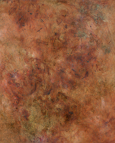 Flexible Mark (Weight) 03, Oil on canvas, 162x130cm, 2017