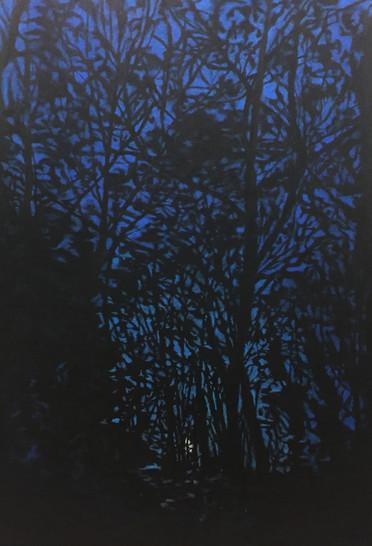 그림자가 되었을 때2-3, 120x82cm, 장지에 아크릴, 오일파스텔, 2017