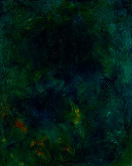 Flexible Mark (Weight) 01, Oil on canvas, 162x130cm, 2017