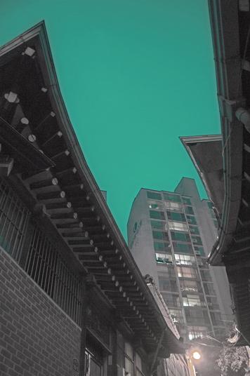 나는한옥10, c-print, 28x43cm, 2017