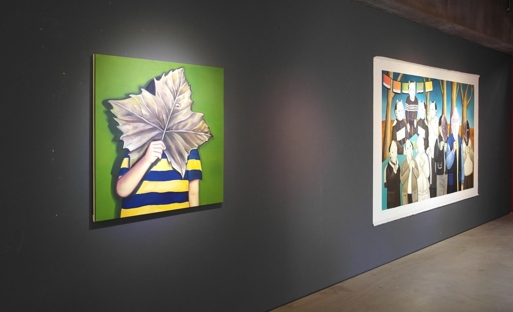 '닫힌 문, 열린막'. 로우갤러리, 2019.03.31-04.28 (4)