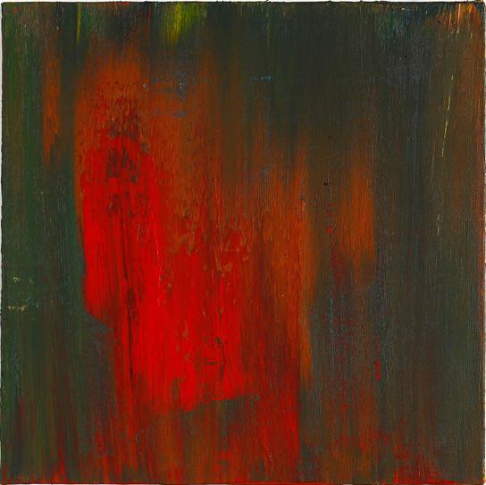 쓰기연습 2, acylic on canvas, 30x30cm, 2013