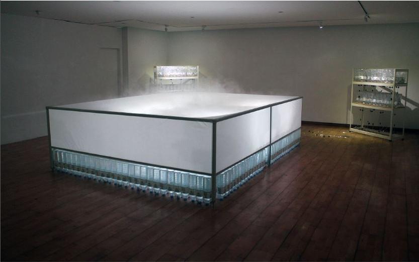 샘물IV, 생수,물공급장치,알루미늄,방수천, LED, 가변설치, 2014
