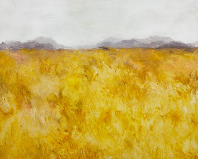 노란바다, Oil on canvas, 130×162cm, 2015, 쉬즈메디병원