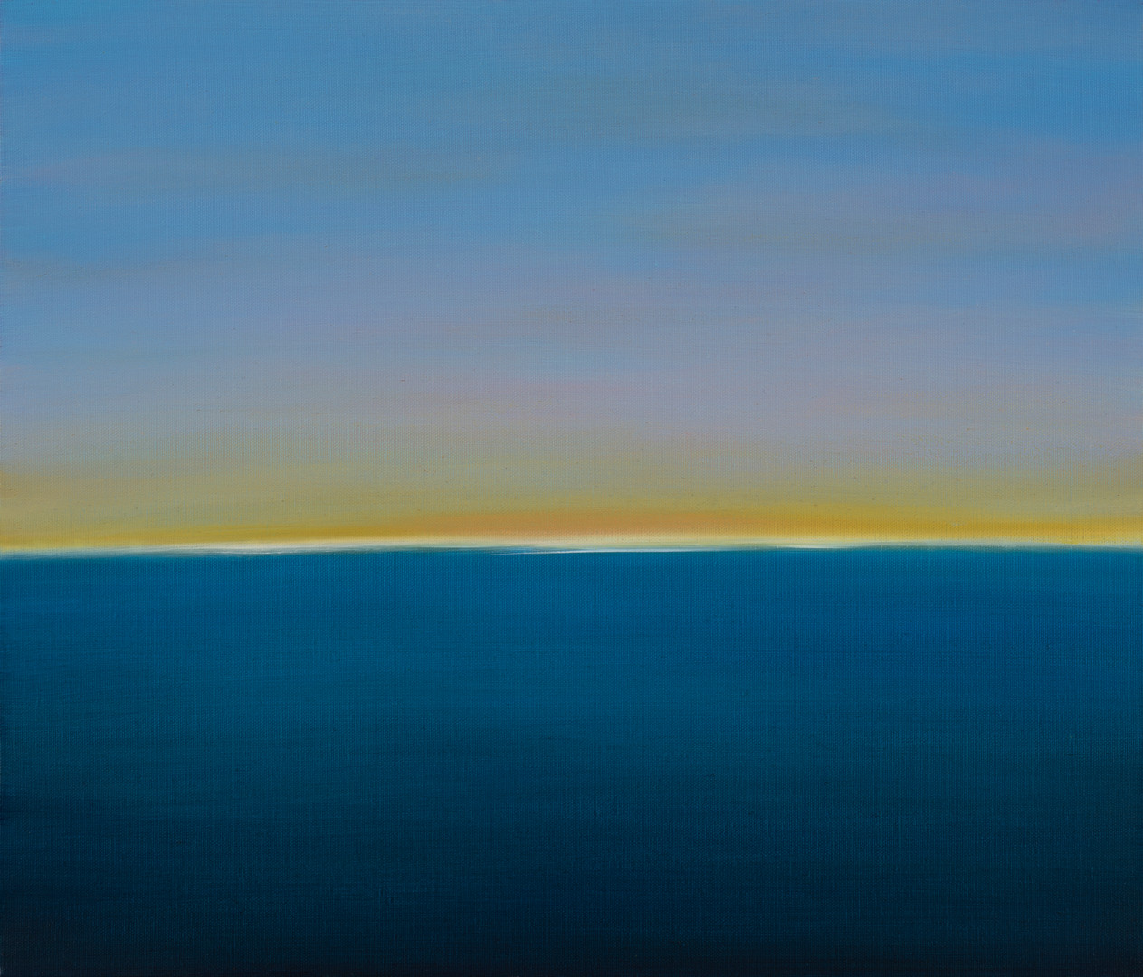 Open your eyes(sea), oil on canvas, 45.5x53cm, 2018
