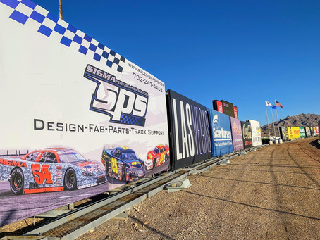 New Billboard At LVMS