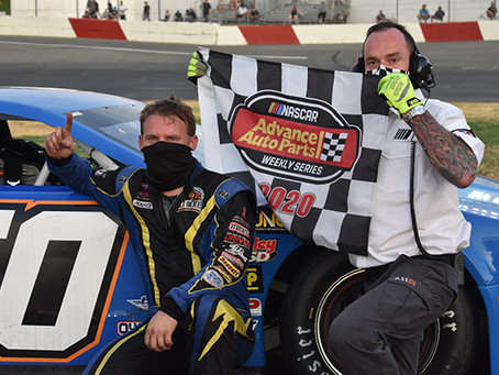 MOORE AND ERICKSON CLAIM NASCAR WINS WHILE THORN WINS SRL TOUR AT ROSEVILLE