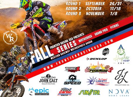 Motocross Racing Returns at Western Raceway With Frontier Racing USA Fall Series