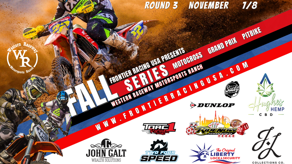 Motocross Racing Returns at Western Raceway With Frontier Racing USA Fall Series