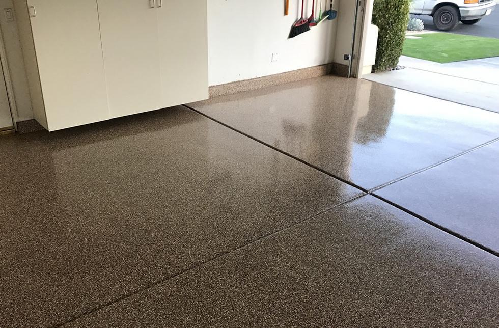 Epoxy Flake Flooring