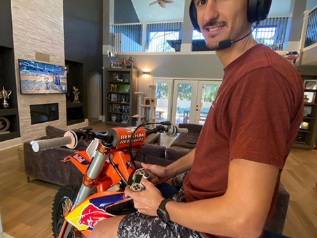 Marvin Musquin takes gaming to another level...