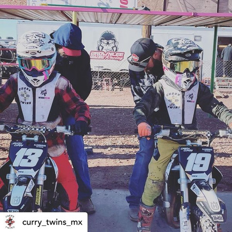 #twowheeltuesday With The Curry Twins