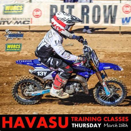 Words Training Havasu 3/25