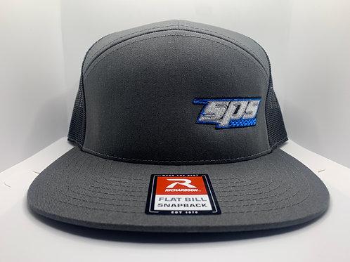 SPS Flatbill Snapback Hat Grey 21