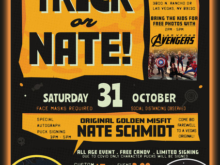 Trick or Nate at Ride Now Powersports on Rancho