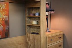 Horizontal FLW Inset Bookcase