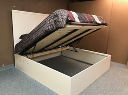 King Lift Bed Open