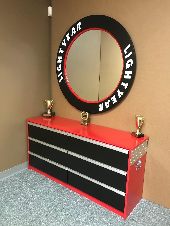Tool Chest Dresser Mirror