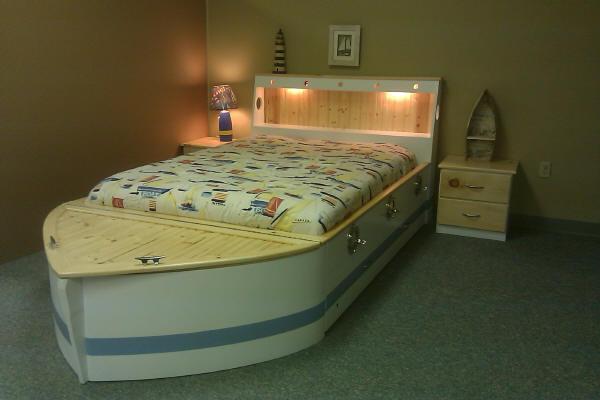 Standard Boat white/lt. Blue