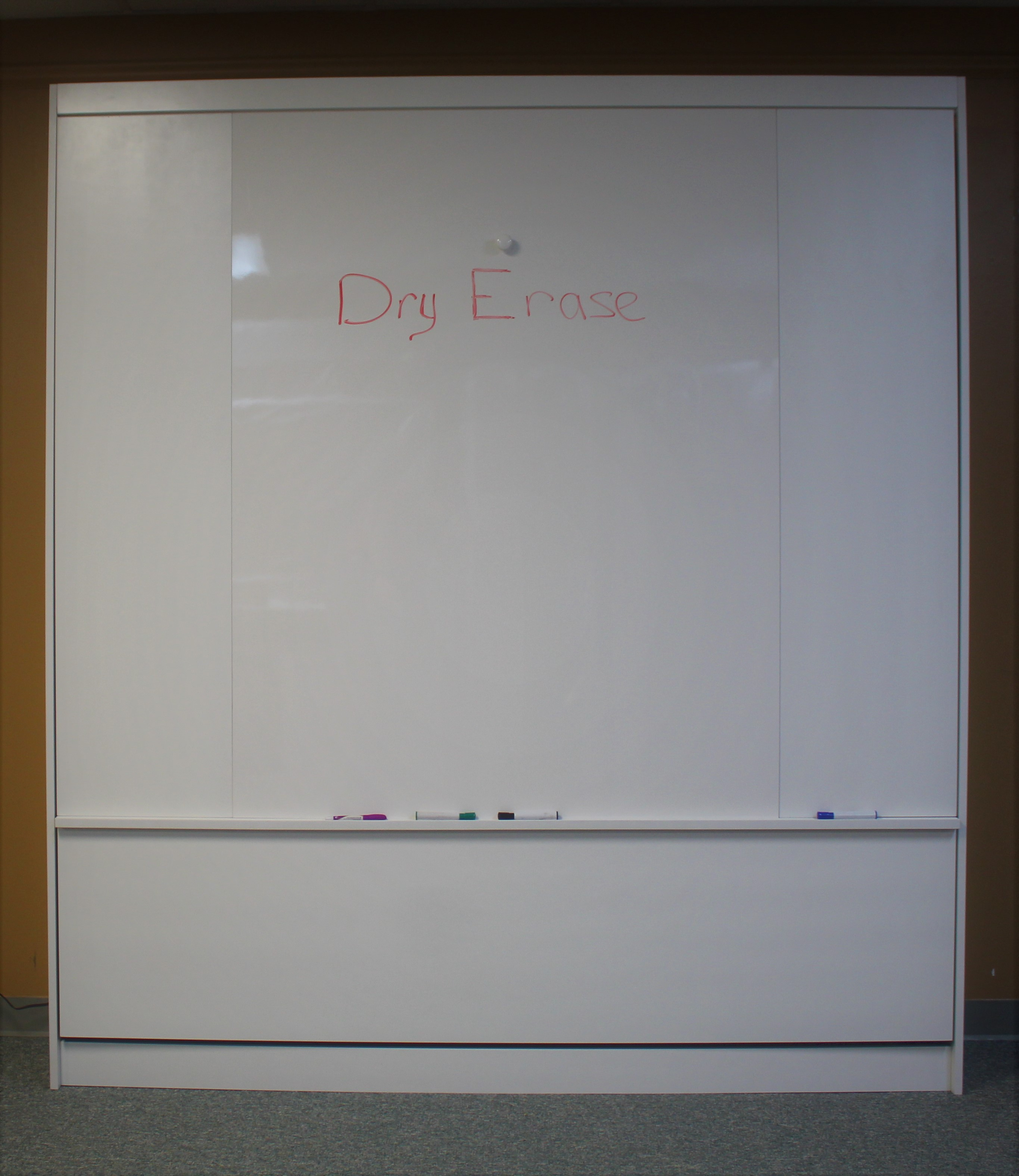 Dry Erase Closed Front