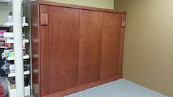 Sideways version of our Contempo Murphy bed