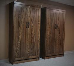Barn Door Twin Closed