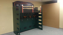 Baseball bunk with murphy bed