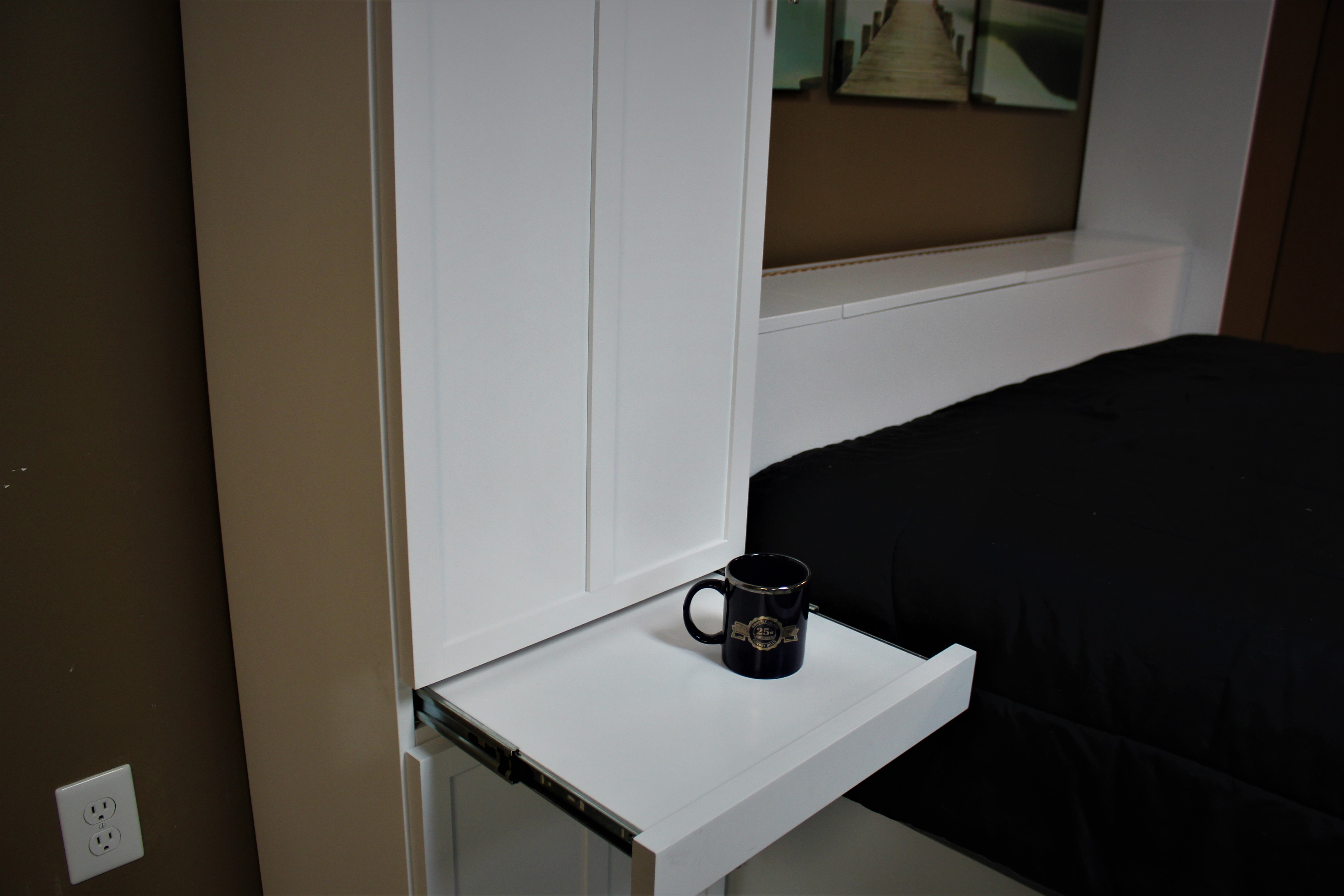 Lift Bed Drink Tray