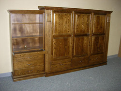 Oak Ross with one bookcase.