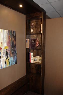 Gothic Inset Bookcase