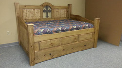 Cross Rustic Daybed