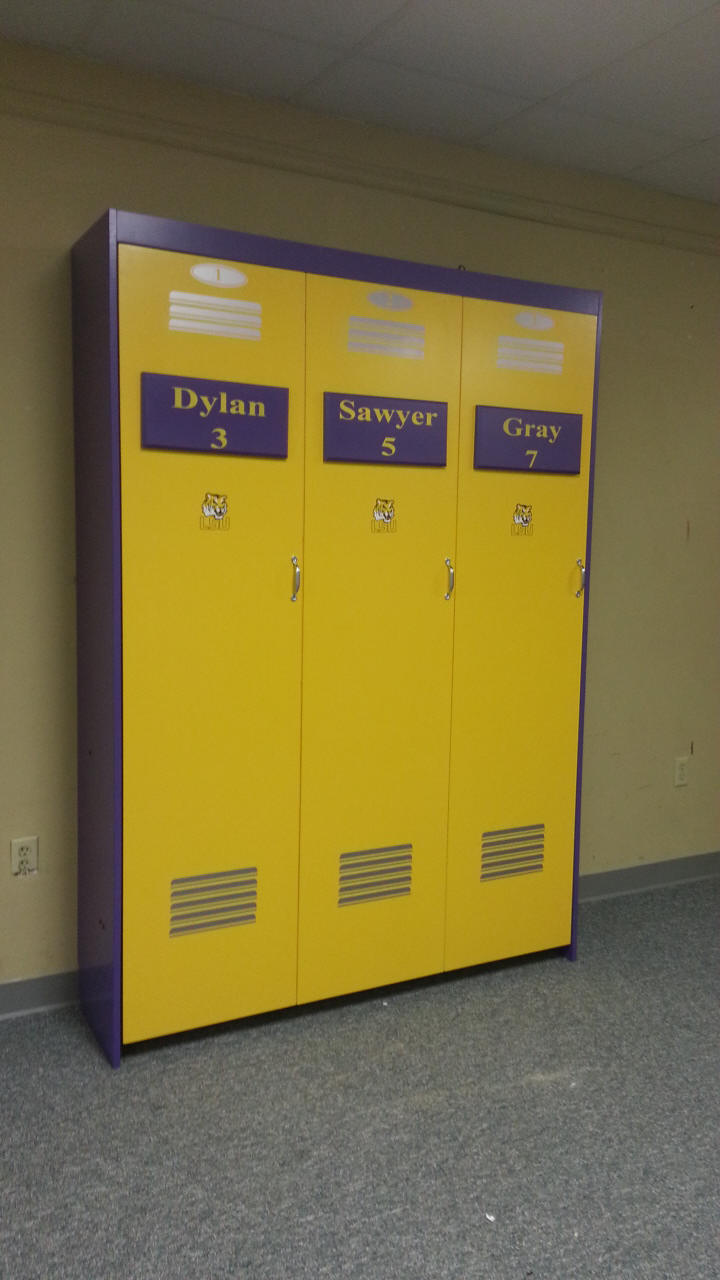 LSU Murphy Bed Closed